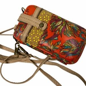 SAK ROOOTS PHONE CROSSBODY
